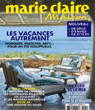 Marie Claire Maison N°526 – Juillet-Août 2021