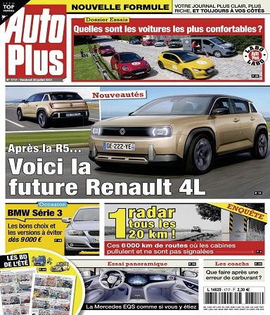 Auto Plus N°1717 Du 30 Juillet 2021