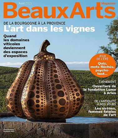 Beaux Arts Magazine N°446 – Août 2021