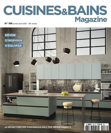 Cuisines et Bains Magazine N°188 – Juillet-Août 2021