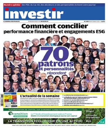 Investir N°2480 Du 17 au 23 Juillet 2021