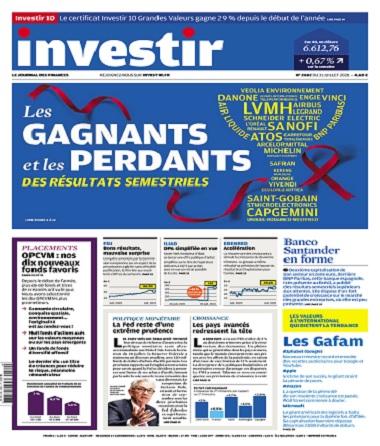 Investir N°2482 Du 31 Juillet 2021