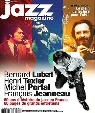 Jazz Magazine N°740 – Août 2021