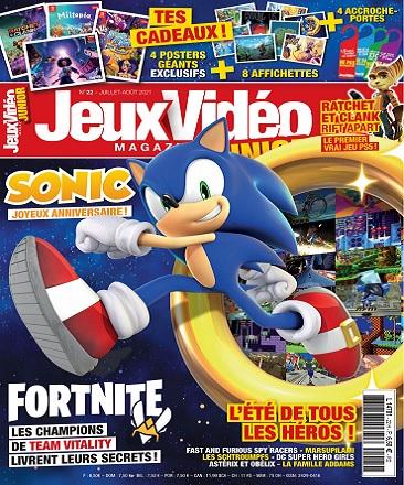 Jeux Vidéo Magazine Junior N°22 – Juillet-Août 2021