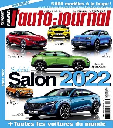 L'Auto-Journal N°1087 Du 1er Juillet 2021