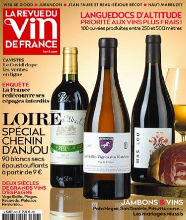 La Revue Du Vin De France N°649 – Avril 2021