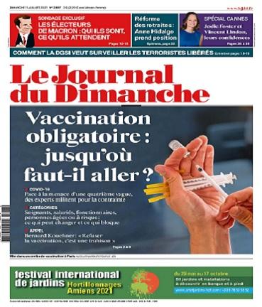 Le Journal Du Dimanche N°3887 Du 11 au 17 Juillet 2021