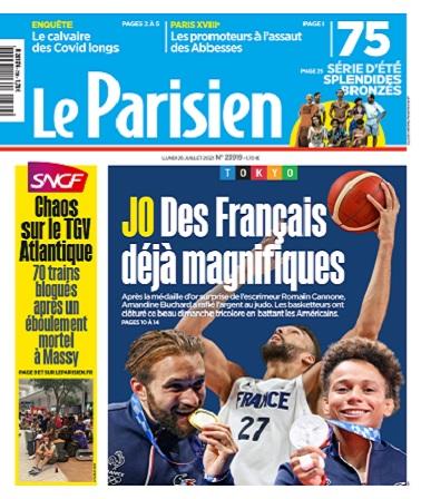 Le Parisien Du Lundi 26 Juillet 2021