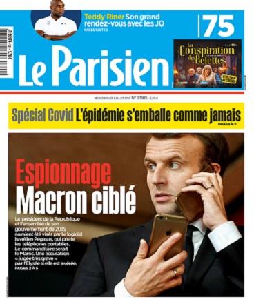 Le Parisien Du Mercredi 21 Juillet 2021