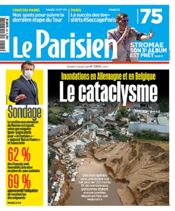 Le Parisien Du Samedi 17 Juillet 2021