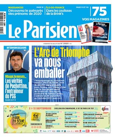 Le Parisien Du Vendredi 30 Juillet 2021