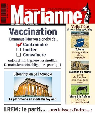 Marianne N°1270 Du 16 au 22 Juillet 2021