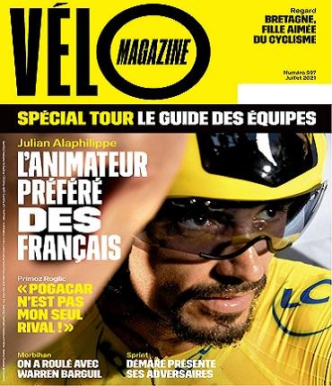 Vélo Magazine N°597 – Juillet 2021