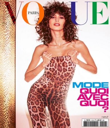 Vogue Paris N°1019 – Août 2021