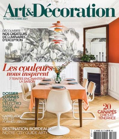 Art et Décoration N°562 – Octobre 2021