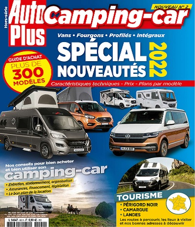 Auto Plus Hors Série N°92 – Camping-Car 2021
