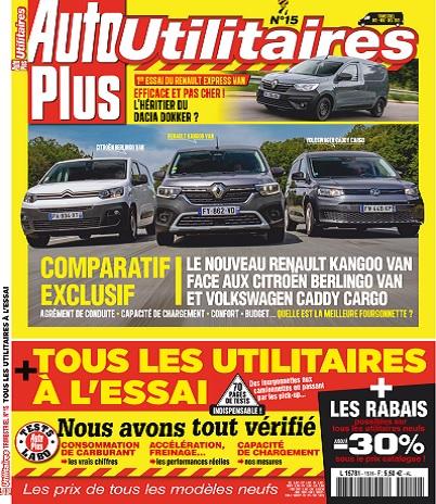 Auto Plus Utilitaires N°15 – Octobre-Décembre 2021