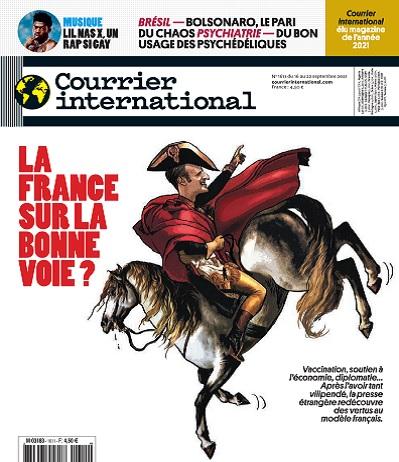 Courrier International N°1611 Du 16 Septembre 2021
