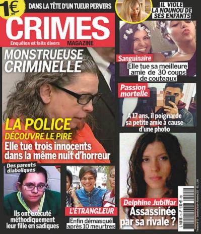 Crimes Magazine N°15 – Septembre-Novembre 2021