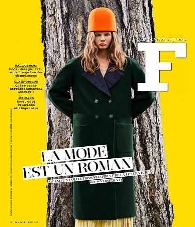 F L'Art De Vivre Du Figaro N°24 – Octobre 2021