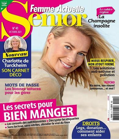Femme Actuelle Senior N°41 – Octobre 2021