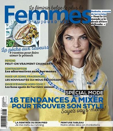 Femmes D'Aujourd'hui N°35 Du 2 au 8 Septembre 2021
