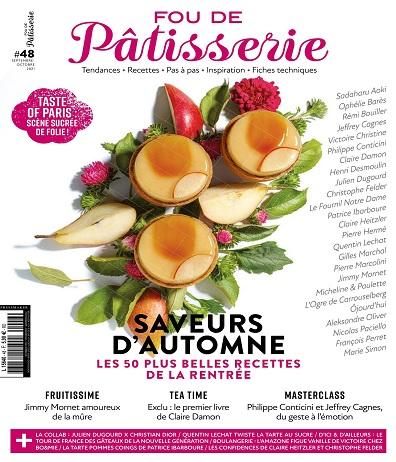Fou De Pâtisserie N°48 – Septembre-Octobre 2021