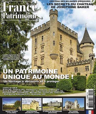 France Patrimoine N°11 – Octobre-Décembre 2021