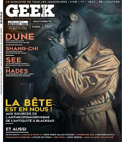 Geek Magazine N°36 – Septembre-Novembre 2021