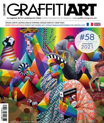 Graffiti Art Magazine N°58 – Septembre 2021