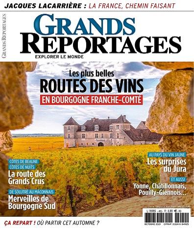 Grands Reportages N°492 – Octobre 2021
