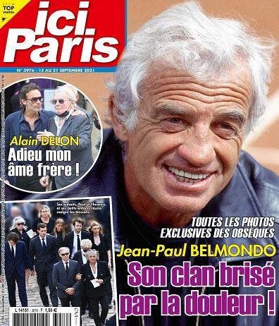Ici Paris N°3976 Du 15 au 21 Septembre 2021