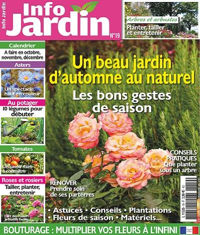 Info Jardin N°19 – Septembre-Novembre 2021