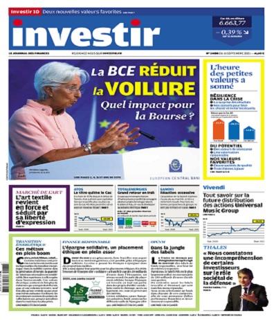 Investir N°2488 Du 11 Septembre 2021