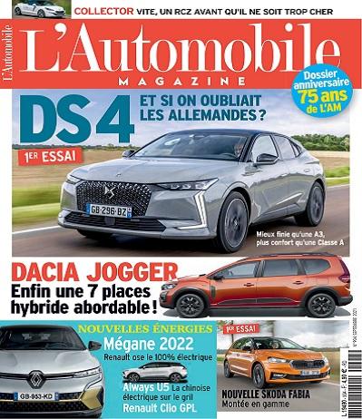 L'Automobile Magazine N°904 – Septembre 2021