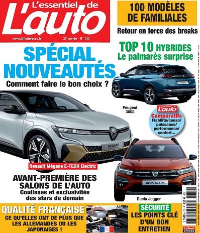 L'Essentiel De L'Auto N°130 – Octobre-Décembre 2021