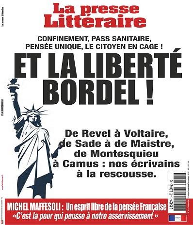 La Presse Littéraire N°15 – Octobre-Décembre 2021
