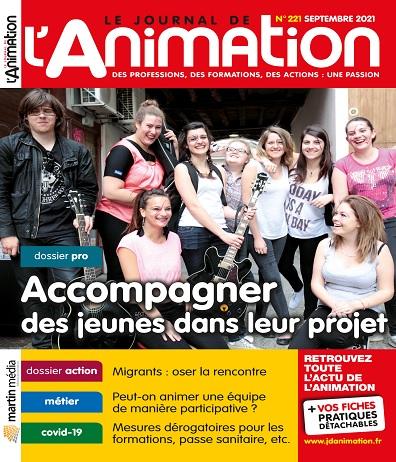 Le Journal De L'Animation N°221 – Septembre 2021