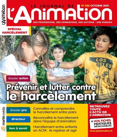 Le Journal De L'Animation N°222 – Octobre 2021