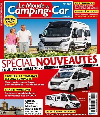 Le Monde du Camping-Car N°335 – Octobre 2021
