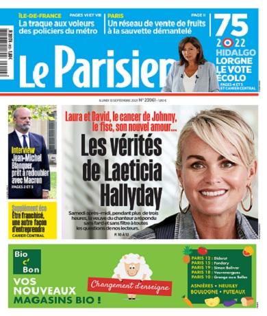 Le Parisien Du Lundi 13 Septembre 2021