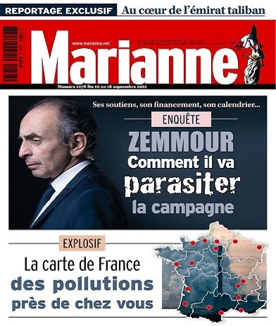 Marianne N°1278 Du 10 au 16 Septembre 2021