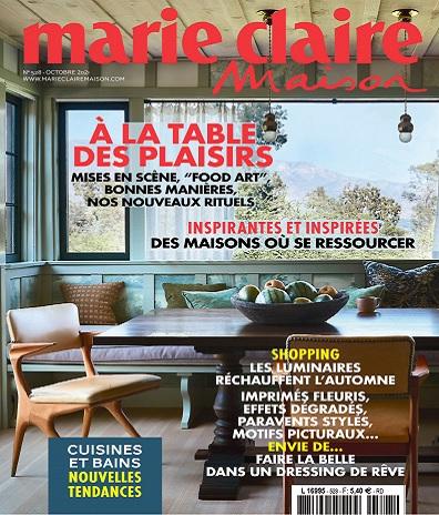 Marie Claire Maison N°528 – Octobre 2021