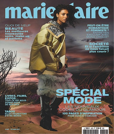 Marie Claire N°829 – Octobre 2021