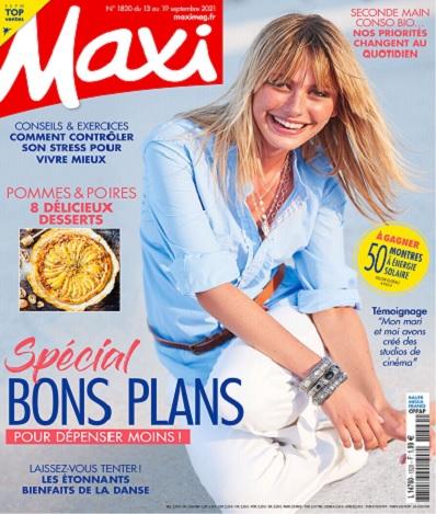 Maxi N°1820 Du 13 au 19 Septembre 2021