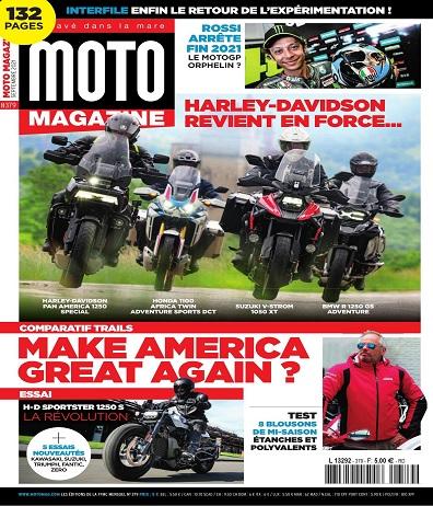 Moto Magazine N°379 – Septembre 2021
