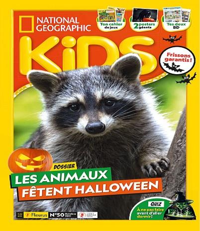National Geographic Kids N°50 – Octobre 2021