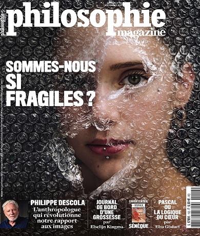 Philosophie Magazine N°152 – Septembre 2021