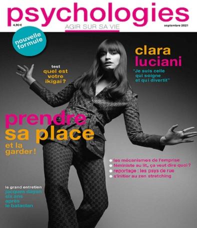 Psychologies Magazine N°425 – Septembre 2021