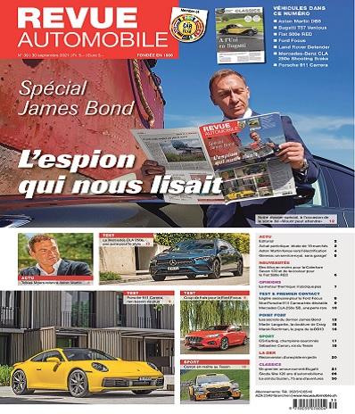 Revue Automobile N°39 Du 30 Septembre 2021